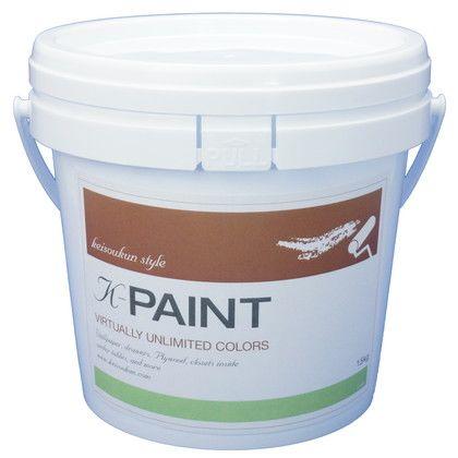 K-PAINT 珪藻土塗料 ライム 1.5kg