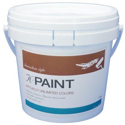 K-PAINT 珪藻土塗料 シーグリーン 1.5kg