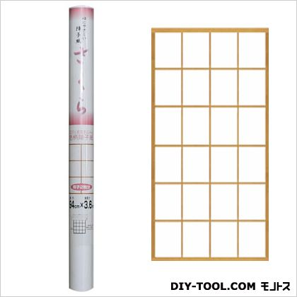 大直 心にやさしい障子紙(目安:障子2枚分) さくら 94cm×3.6m O-110  本