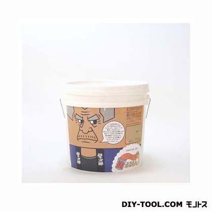 ひとりで塗れるもん(室内用塗り壁材) 壁次郎 頑固ブラウン 11kg 900-011007-GB