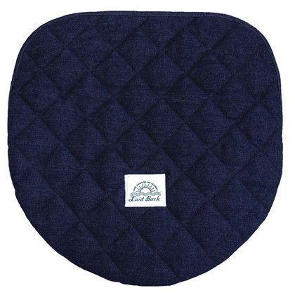 レイドバック 洗浄・暖房用フタカバー ネイビーブルー 洗浄・暖房タイプ 255749