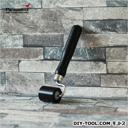 壁紙の施工道具 minamoto 源 壁紙用おさえジュラコンローラー ブラック  KTN008