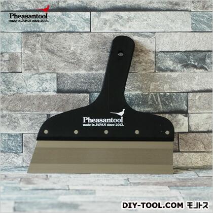 壁紙の施工道具 minamoto 源 フラットパテベラ 上塗り用 ブラック 7寸 KTN0011