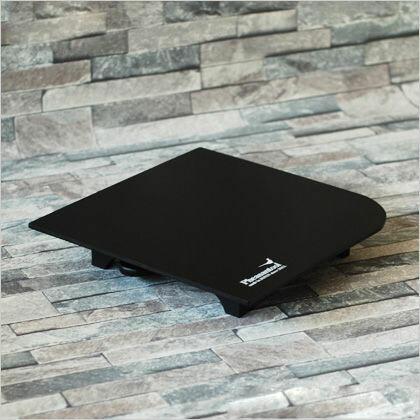 壁紙の施工道具 minamoto 源 パテベラ収納機能付 パテ盛板 ブラック 295mm×295mm KTN0012