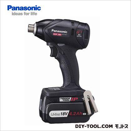 充電 インパクトドライバー18V電池セット(充電器・バッテリー2個付)デュアル・Dual 黒  EZ75A1LS2G-B