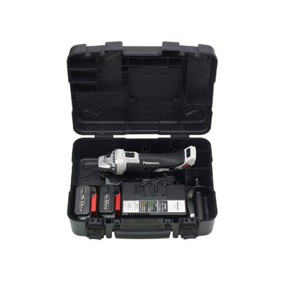 充電18Vデュアルディスクグラインダー125 グレー  EZ46A2LJ2G-H