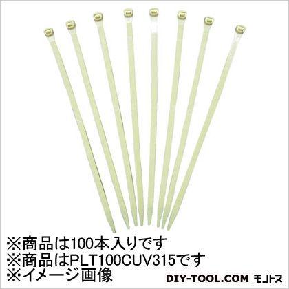 スーパーグリップ 耐熱耐候性アイボリー結束バンド (100本×1袋) (PLT100CUV315)