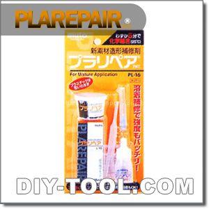 プラスチックの補修剤 透明 (PL-16 透明)