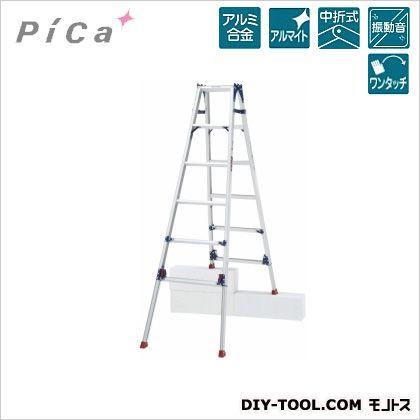 四脚アジャスト式はしご兼用脚立 かるノビ   SCL-180LA