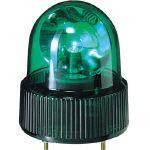 パトライト パトライト SKH-A型 小型回転灯 Φ118 オールプラスチックタイプ 緑 SKH101A 1個   SKH101A 1 個