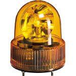 パトライト パトライト SKH-A型 小型回転灯 Φ118 オールプラスチックタイプ 黄 SKH120A 1個   SKH120A 1 個