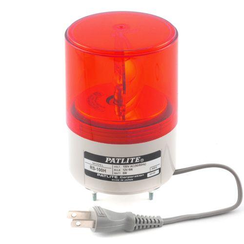 パトライト 超小型回転灯 赤   RS-100H