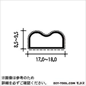 扉の気密材 グレー 2M #26-B
