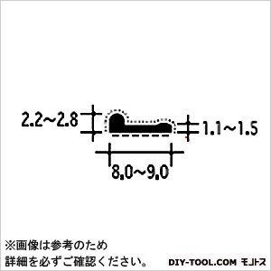 ピンチブロック 扉の気密材 スライド加工 黒 2.2M #25-BS   粘着固定シート 補強金物
