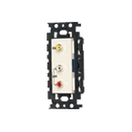 埋込絶縁AV用信号コンセント   WN4822