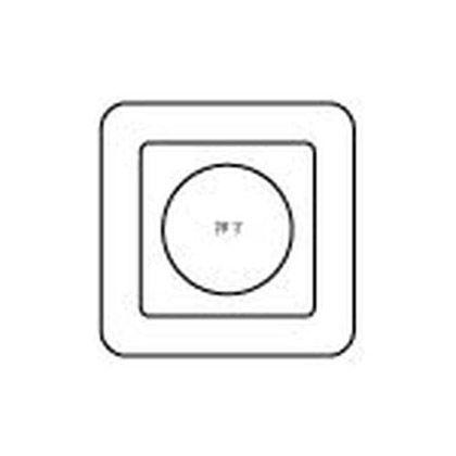 フルカラー埋込ミニ押釦常開形   WS6531