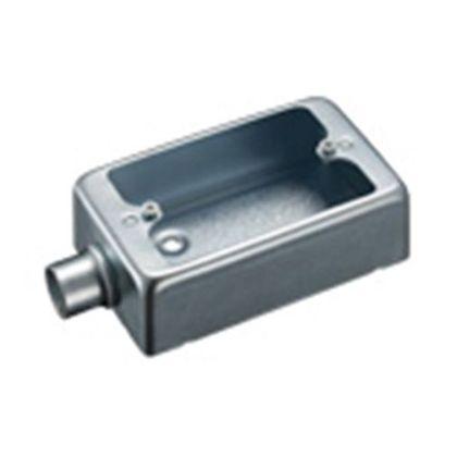 露出スイッチボックス1個用1方出G22(厚鋼電線管用)   DF30221K