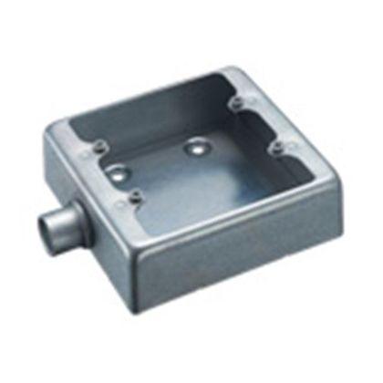 露出スイッチボックス2個用1方出C19(薄鋼電線管用)   DF32191K