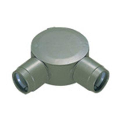 パナソニック 丸型露出ボックス直角2方出(PF管用)  呼びPF14 DM39514-20 20 個入