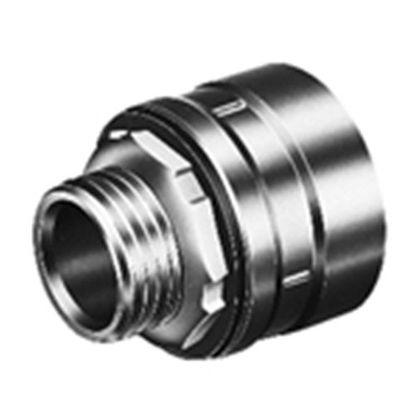 薄鋼電線管用ストレートコネクタ・タイプE  呼び22 DMB1221