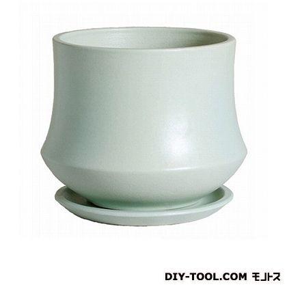 植木鉢 スワン 受皿付   H020-01 シーグラス