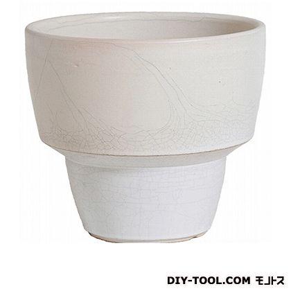 プラスガーデン 植木鉢 アダラ  M 548-21 チタンホワイト