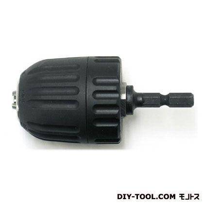 キーレス六角軸ドリルチャック 10mm ブラック  KLD-10