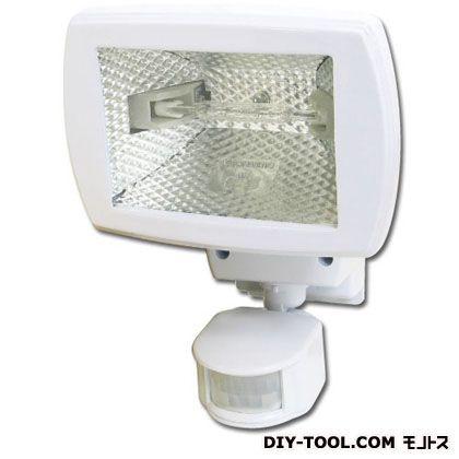 センサーライト1灯 ハロゲンタイプ ホワイト  HSL-150