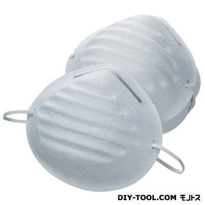 作業マスク 10枚入り ホワイト  K1