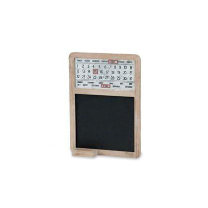 ポッシュリビング アンティークボードカレンダー  巾32×奥5.5×高45cm 40579