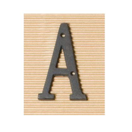 アイアンアルファベット A  奥0.5×高8cm 62373