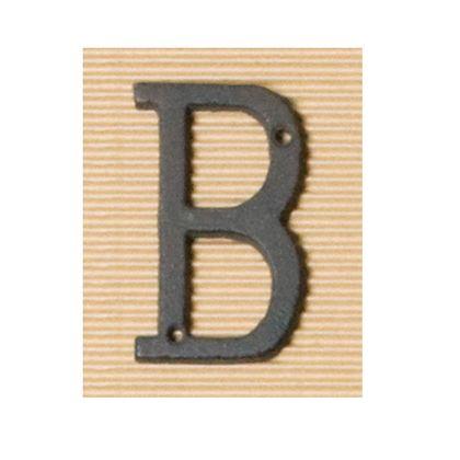 アイアンアルファベットB  奥0.5×高8cm 62374