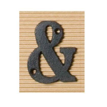 アイアンアルファベット&  奥0.5×高8cm 62526
