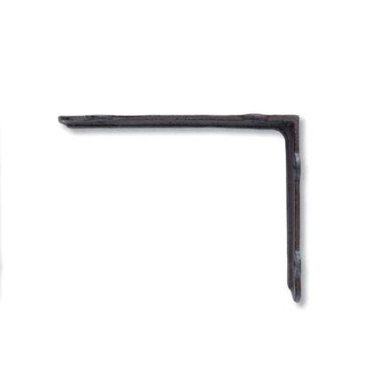 アイアンブラケットL ブラウン 巾4×奥20×高15.5cm (62183)