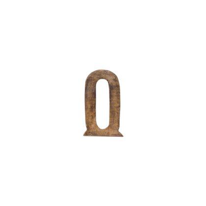 ウッデンアルファベット O  D1.5H12.5 41065