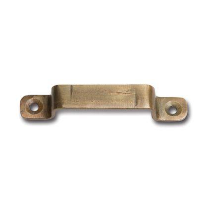 アイアンハンドルS アンティークゴールド 巾7.5×奥1.5×高1.3cm 63152 3 個
