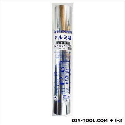 アルミシート 巻物 粘着剤付 R201  0.2X400X1200mm 50650100
