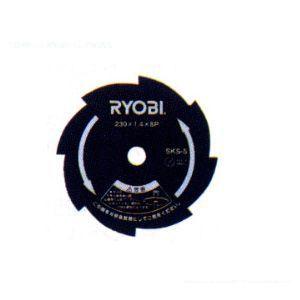 リョービ 刈払機用 金属8枚刃   6730141