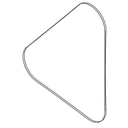 卓上バンドソーTBS-80用 帯鋸刃 木工用曲線切り (6630740)