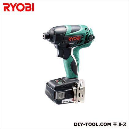 充電式インパクトドライバ 充電器・バッテリーパック2個・キャリングケース付き (BID-1440)