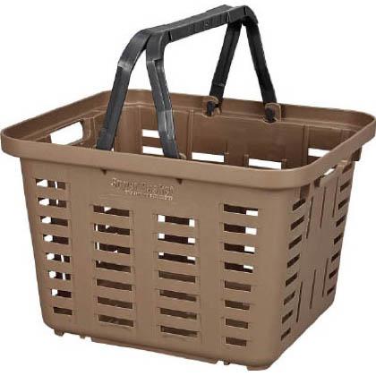 リングスター スーパーバスケット 買い物カゴ グリーン  SB-370グリーン