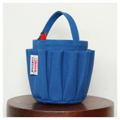 バケツ型ツールバッグ ブルー (LOBTB01B)
