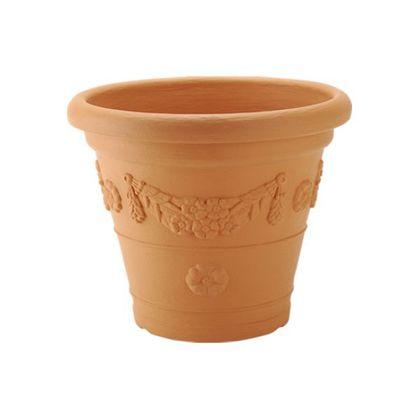 アンティコ鉢 ブラウン 55型