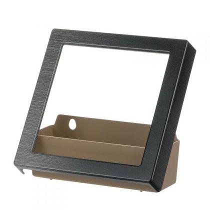 デコレアスクエアフレーム レイヤーストーン (20×7.5×20cm)