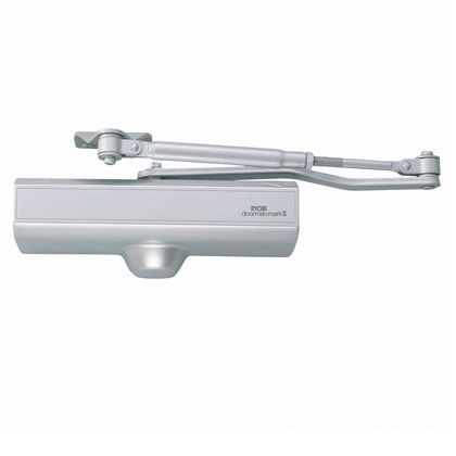 ドアクローザー ドアマン 玄関 勝手口用  markii(マークツー) クラムパック シルバー 8×12×22.5cm S-102P2