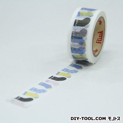 靴下 装飾マスキングテープ 20mmx7m