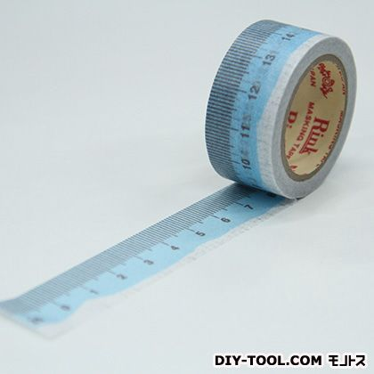 Rink チョコっと文具 ミント 装飾マスキングテープ  20mmx7m
