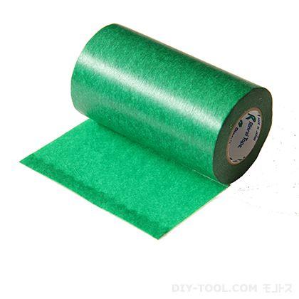 黒板になる和紙テープ 緑  100mm×18m