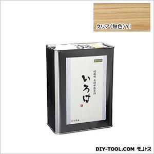 いろはクリア 浸透性木材保護塗料 クリア 3.5L YI-03