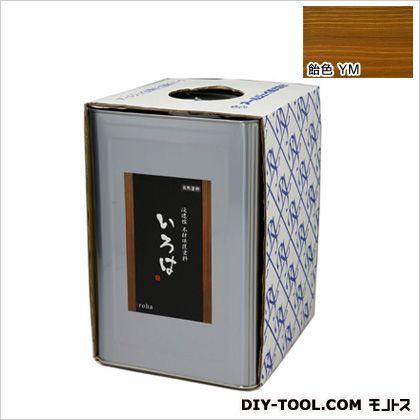 いろはカラー 浸透性木材保護塗料 飴色 16L (YM-16)